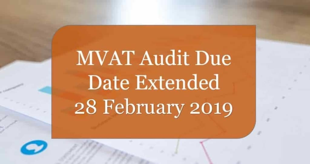 MVAT Audit FY 2017-18 Due Date 15 January 2018 | Turnover