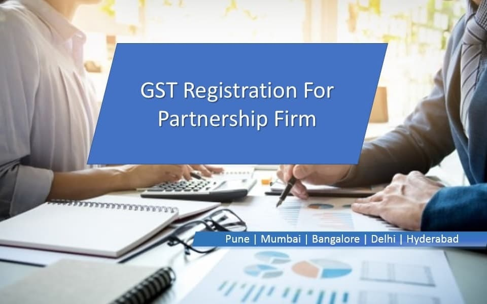 GST Registration For Partnership Firm