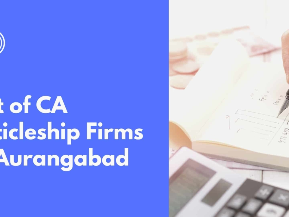 CA Firms In Aurangabad For Articleship