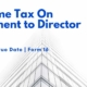 Income tax on payment to director