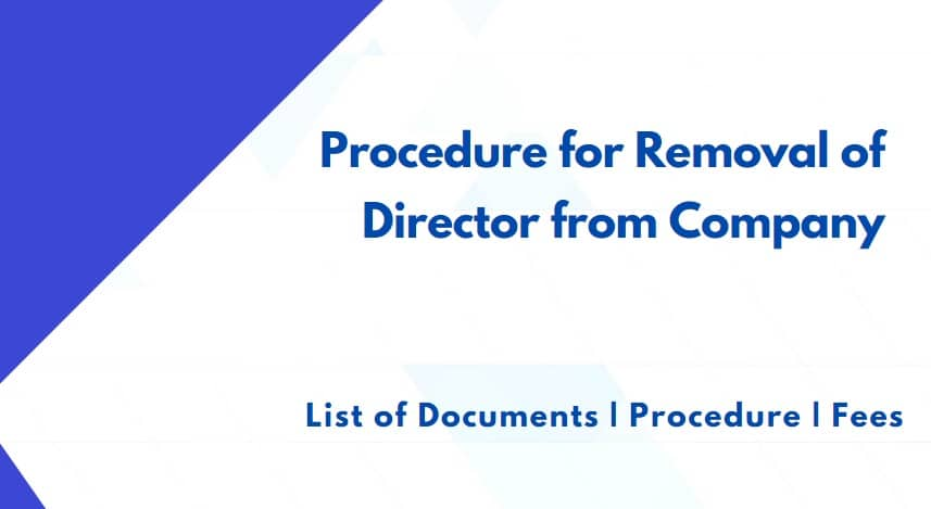 Procedure for Removal of Director from Company